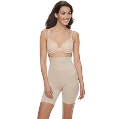Naomi & Nicole Inside Magic Ultimate Tummy Control High-Waisted Thigh Slimmer 7949