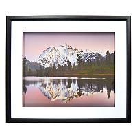 New View Purple Mountains Framed Wall Art
