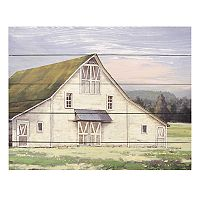 New View Rustic Barn Wall Art