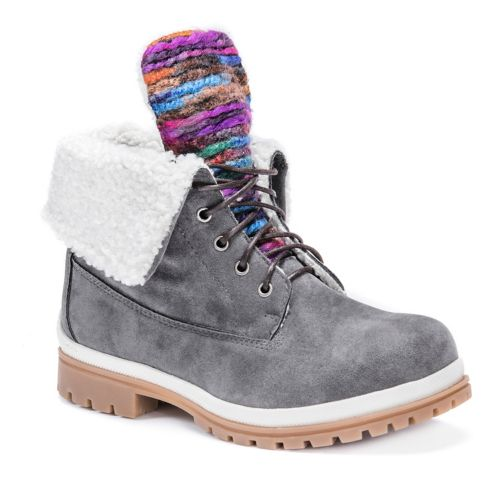 MUK LUKS Megan Women's Water ... Resistant Winter Boots