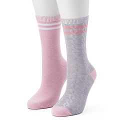 Women's Unionbay 2 pkCable Crew Socks
