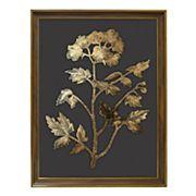New View Metallic Botanical Framed Wall Art