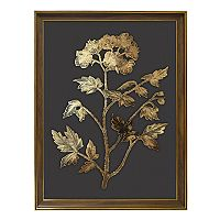 New View Metallic Botanical Framed Wall Art