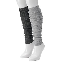 Women's Unionbay 2 pkCable Knit Legwarmers