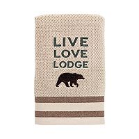 Avanti Cabin Words Hand Towel