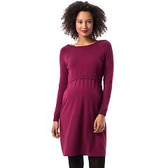 Maternity Pip & Vine by Rosie Pope Mock-Layer Shift Dress