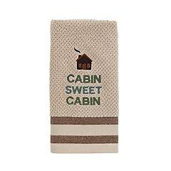 Avanti Cabin Words Fingertip Towel