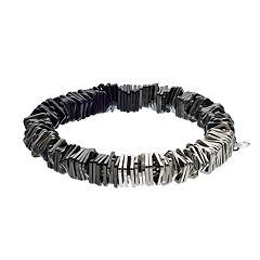 Simply Vera Vera Wang Ombre Square Bead Stretch Bracelet