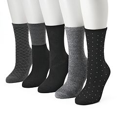Women's SONOMA Goods for Life™ 5-pk. Geometric Crew Socks