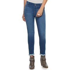 Women's Juicy Couture Flaunt It Pull-On Ankle Skinny Jeans