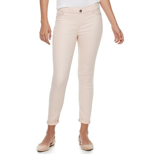 Women's Juicy Couture Flaunt It Pull-On Midrise Ankle Skinny Jeans