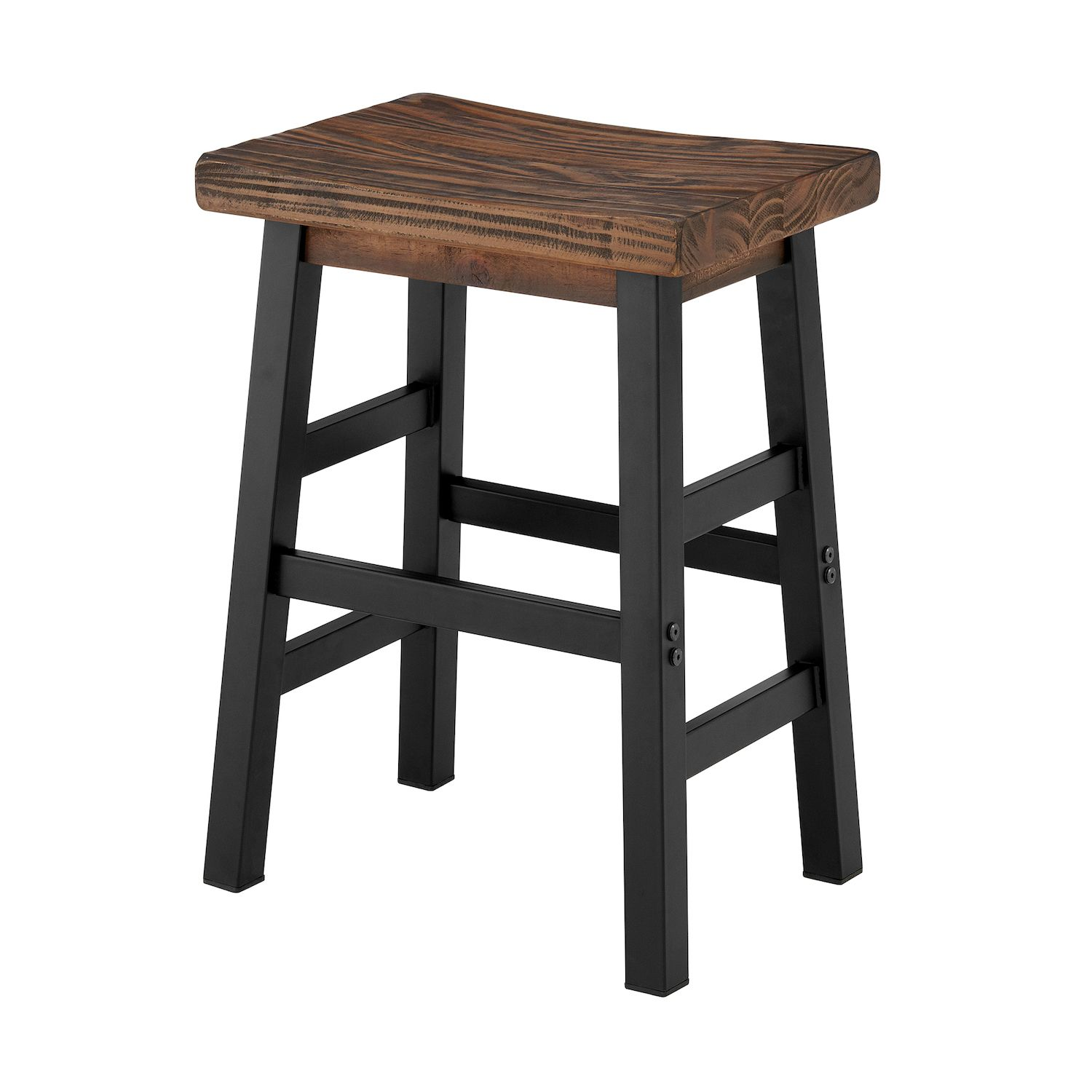 Charmant Alaterre Furniture Pomona Industrial Farmhouse Stool. Regular
