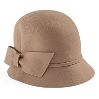 Women's Betmar Dixie Wool Bow Cloche Hat