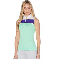 Women's Grand Slam Color Block Sleeveless Golf Top