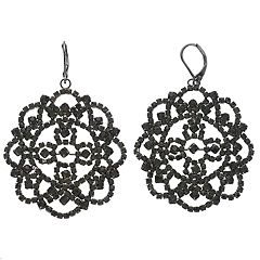 Simply Vera Vera Wang Lace Nickel Free Drop Earrings