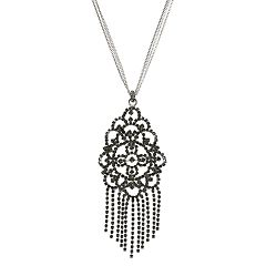 Simply Vera Vera Wang Geometric Pendant Necklace
