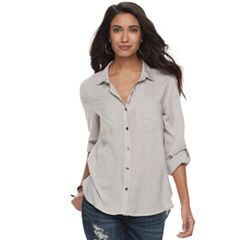 Women's Rock & Republic® Embroidered Shirt