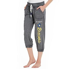 Women's Concepts Sport Milwaukee Brewers Concourse Capri Lounge Pants