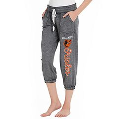 Women's Concepts Sport Baltimore Orioles Concourse Capri Lounge Pants