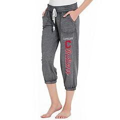 Women's Concepts Sport Cleveland Indians Concourse Capri Lounge Pants