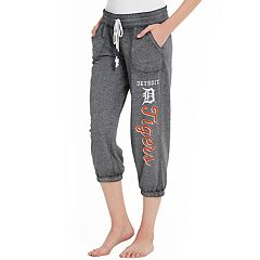 Women's Concepts Sport Detroit Tigers Concourse Capri Lounge Pants