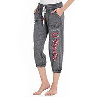 Women's Concepts Sport Cincinnati Reds Concourse Capri Lounge Pants