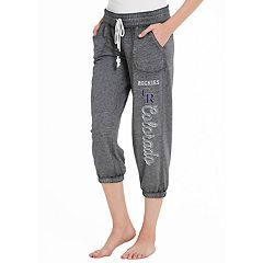Women's Concepts Sport Colorado Rockies Concourse Capri Lounge Pants