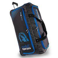 Ecko Unltd Black Top Large 32-Inch Wheeled Duffel Bag