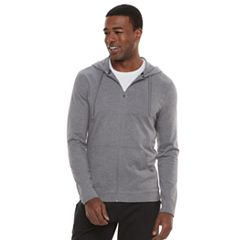 Men's Tek Gear Lightweight Jersey Full-Zip Hoodie