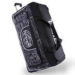 Ecko Unltd Alpha 32-Inch Large Wheeled Duffel Bag