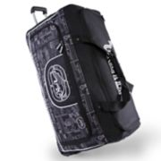 Ecko Unltd Alpha 32-Inch Large Wheeled Duffel Bag