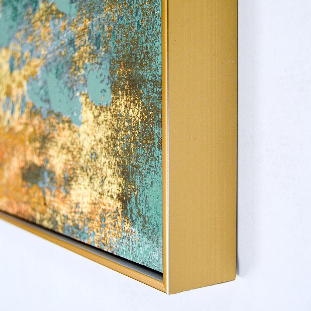 Nice Metallic Canvas Wall Art Elaboration - Wall Art Collections ...
