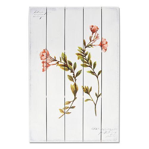 New View Artistic Botanical Flowers Wall Art