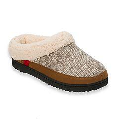 Women's Dearfoams Marled Knit Clog Slippers