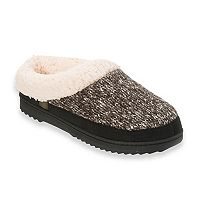 Women's Dearfoams Marled Knit Clog Slippers
