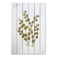 New View Artistic Botanical Leaves Wall Art