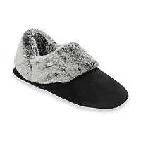 Women's Dearfoams Velour Bootie Slippers