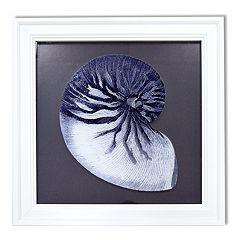 New View Reverse Shell Framed Wall Art