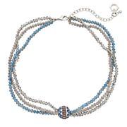 Simply Vera Vera Wang Multistrand Beaded Necklace
