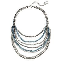 Simply Vera Vera Wang Nickel Free Beaded Multistrand Necklace