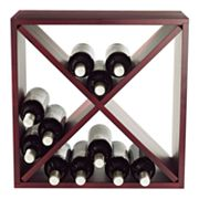 Wine Enthusiast Compact Cellar Cube - Mahogany