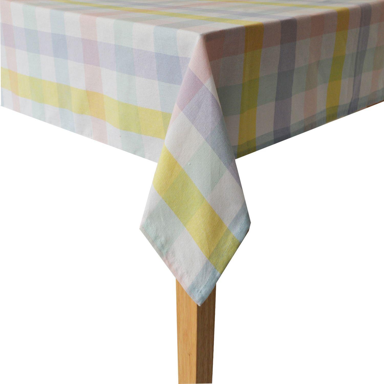 Celebrate Easter Together Gingham Tablecloth
