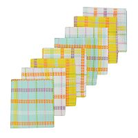 Celebrate Spring Together Woven Plaid Dishcloth 8-pk.