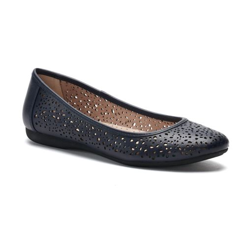Croft & Barrow® Marilla ... Women's Ortholite Ballet Flats