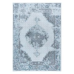 KHL Rugs Aria Claudia Framed Floral Rug