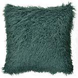 Spencer Home Decor Simon Angora Faux Fur Throw Pillow
