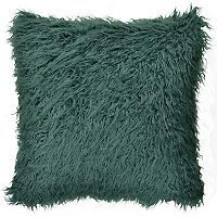Spencer Home Decor Simon Angora Faux Fur Throw Pillow