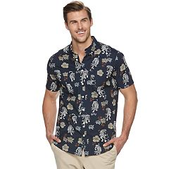 Big & Tall Urban Pipeline® Awesomely Soft Ultimate Regular-Fit Button-Down Shirt