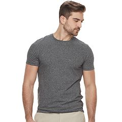 Men's Marc Anthony Slim-Fit Striped Stretch Crewneck Tee