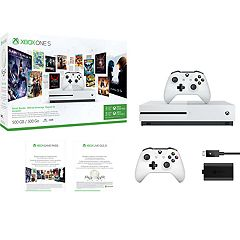 Xbox One S 500GB Starter Bundle with Play & Charge Kit